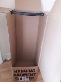 wardrobe boxes x 5