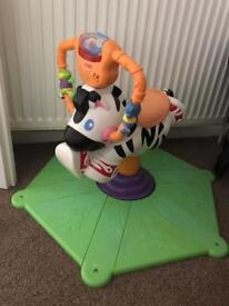 Fisher Price Zebra Bounce and Spin