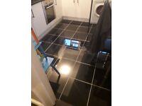 black granite floor tiles 400 by 400mm