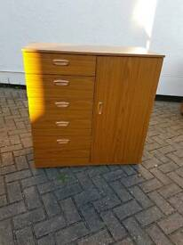 Retro Vintage chest of drawers and door