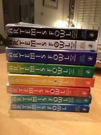 Artemis Fowl 8 book set