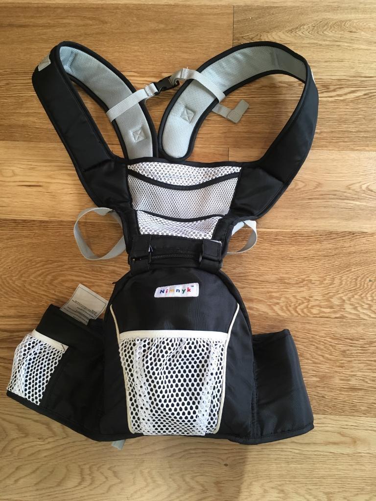 Nimnik Baby Sling Carrier Hipseat Ergonomics Front 2 Back Carrier