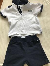 Hugo boss baby clothes