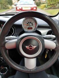 mini cooper black 1.6 2005 immaculate