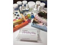 Harmony Acrylic kit, Gelish polygel, nsi secret uv hard gel & calgel