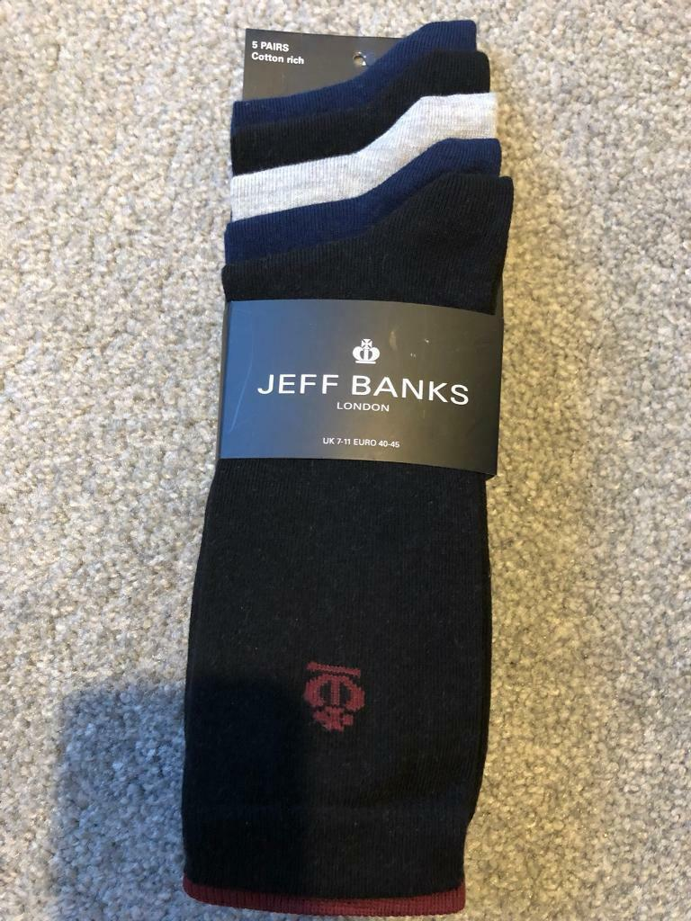 Jeff banks mens socks size 7-11