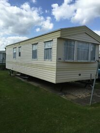 Two bedroom (4-6 berth) caravan to let in Skegness