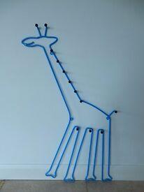 New giraffe kids coat hanger