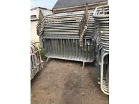 USED CROWD CONTROL BARRIERS