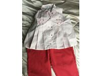Girls designer outfit age 4