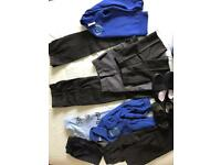 School Uniform 3-4/4-5/5-6/7-8 trousers/shorts/fleece/jumper/PE kit/plimsoles