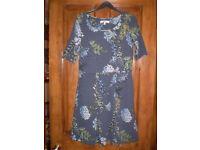 Next blue floral dress size 10