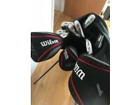 Wilson Men's Profile VF Steel Golf Set + Accessories
