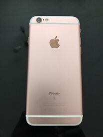 iPhone 6s rose gold 16g (unlocked)