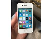 Iphone 4 white- good condition, wifi not working, 8gb,