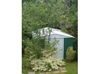 very useful large metal garden shed guildford area only 1 year old 10 X 13 foot