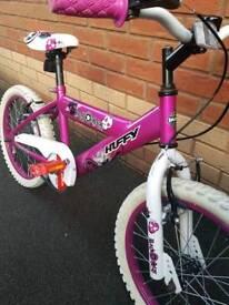 Girls bike aged 5-8