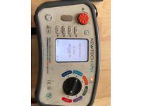 Electrical multifunction tester, Kewtech kt64.