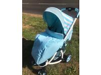 mybabie stroller buggy in great used condition .