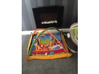 Play gym and bouncer