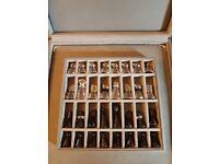 SWAROVSKI RARE CHESS SET - Set in Own Carrying Case in Original Box