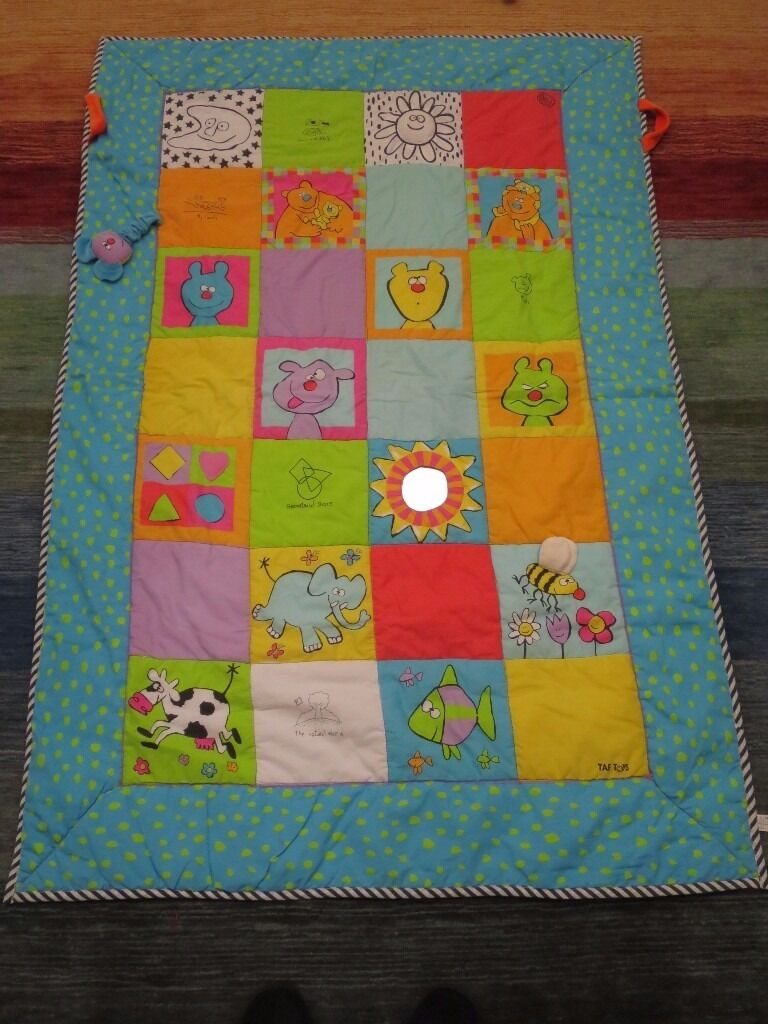 Taf Toys large padded/quilted baby play mat