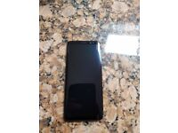 Samsung galaxy S8 locked to 02, used but in excellent condition , 64gb, black