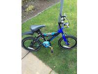 "Excellent Condition - Boys 14"" wheel BMX Sunbeam bike by Raleigh - 4-6 yrs"