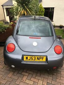 VW Beatle for sale great condition low millage *reduced*