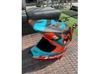 Fox youth motocross helmet