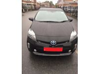 PCO CAR HIRE RENT HYBRID AUTOMATIC TOYOTA PRIUS MINIMUM DEPOSIT SPECIAL OFFER