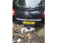 Renault clio and twingo breaking