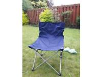 Picnic/camping chairs x3