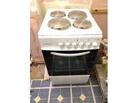 Electric freestanding cooker 50cm wide cookworks