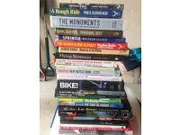 Cycling books and memorabilia