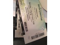 2 TICKETS FOR £90 - GREEN DAY - HYDE PARK - BRITISH SUMMERTIME - 1 JULY