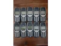 Nokia 3310 joblot 100 phones