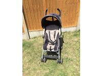Maclaren Quest pushchair, stroller with rain cover