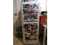 Fridge freezer white, great for 1-2 person flat, used