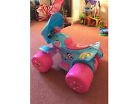 My little pony 6V electric quad bike