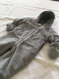 Baby snowsuit Age 0-3 months
