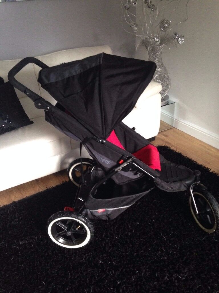 Phil And Teds Explorer Pushchair Double Buggy
