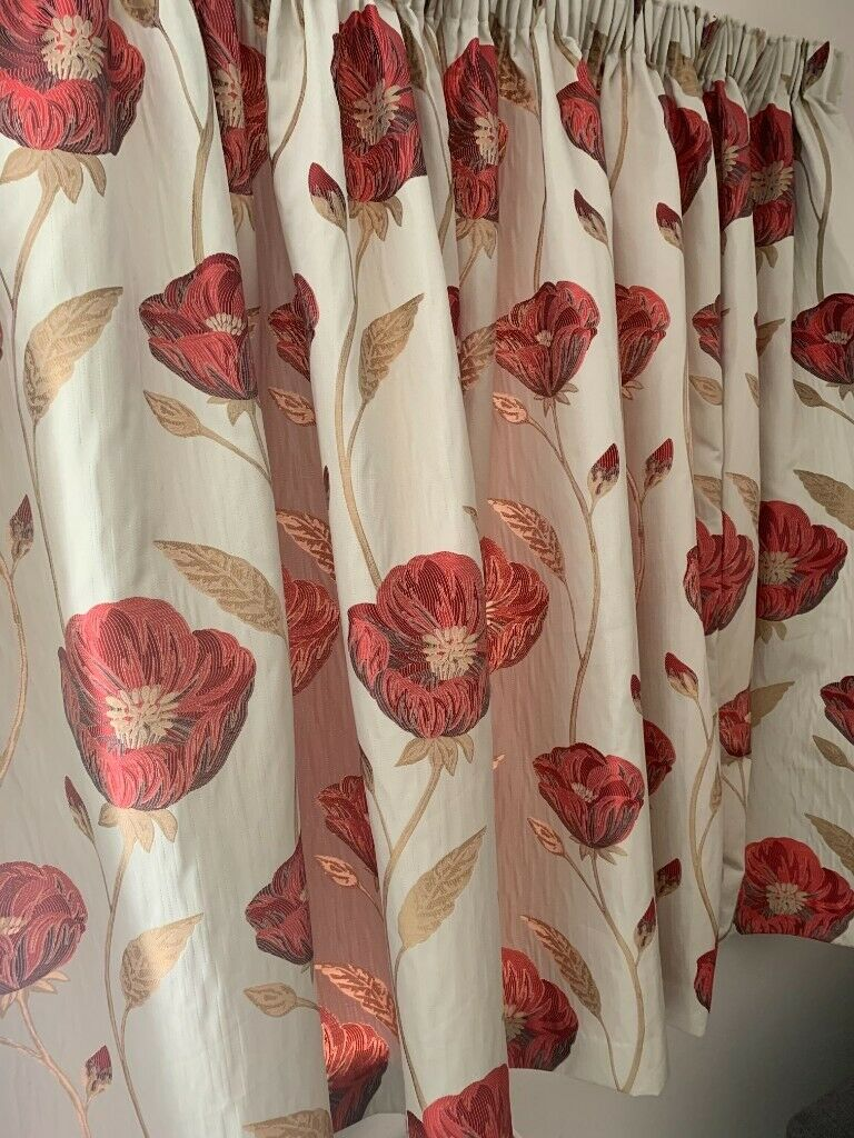 Free Great Condition Pair Of Marks And Spencer Freesia Curtains Each Curtain 2 5m X 1 46m In Hildenborough Kent Gumtree