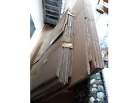 11 large packing boxes (triple and double layers)
