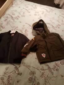 x2 boys Next jackets