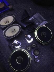 Mazda Rx8 Bose speaker setup and amps