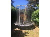 Trampoline used only few month 1 year old free