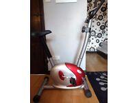 Exercise bike (hardly used)