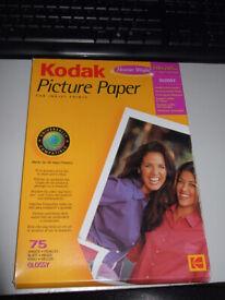 Kodak Picture Paper for Inkjet Prints