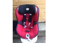 Britax Romer Dualfix swivel car seat 0-18kg Red Isofix